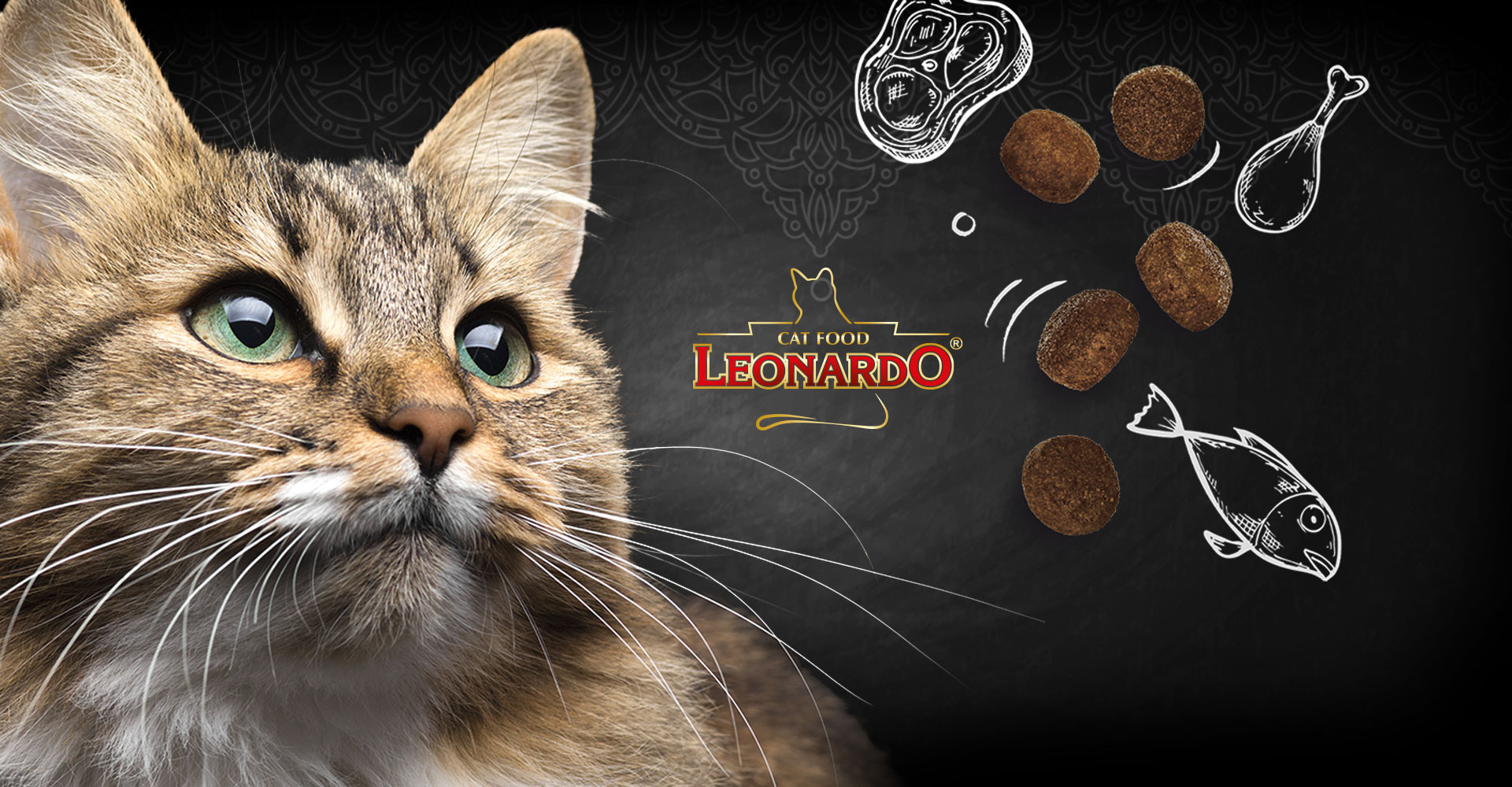 LEONARDO catfood Katzenfutter