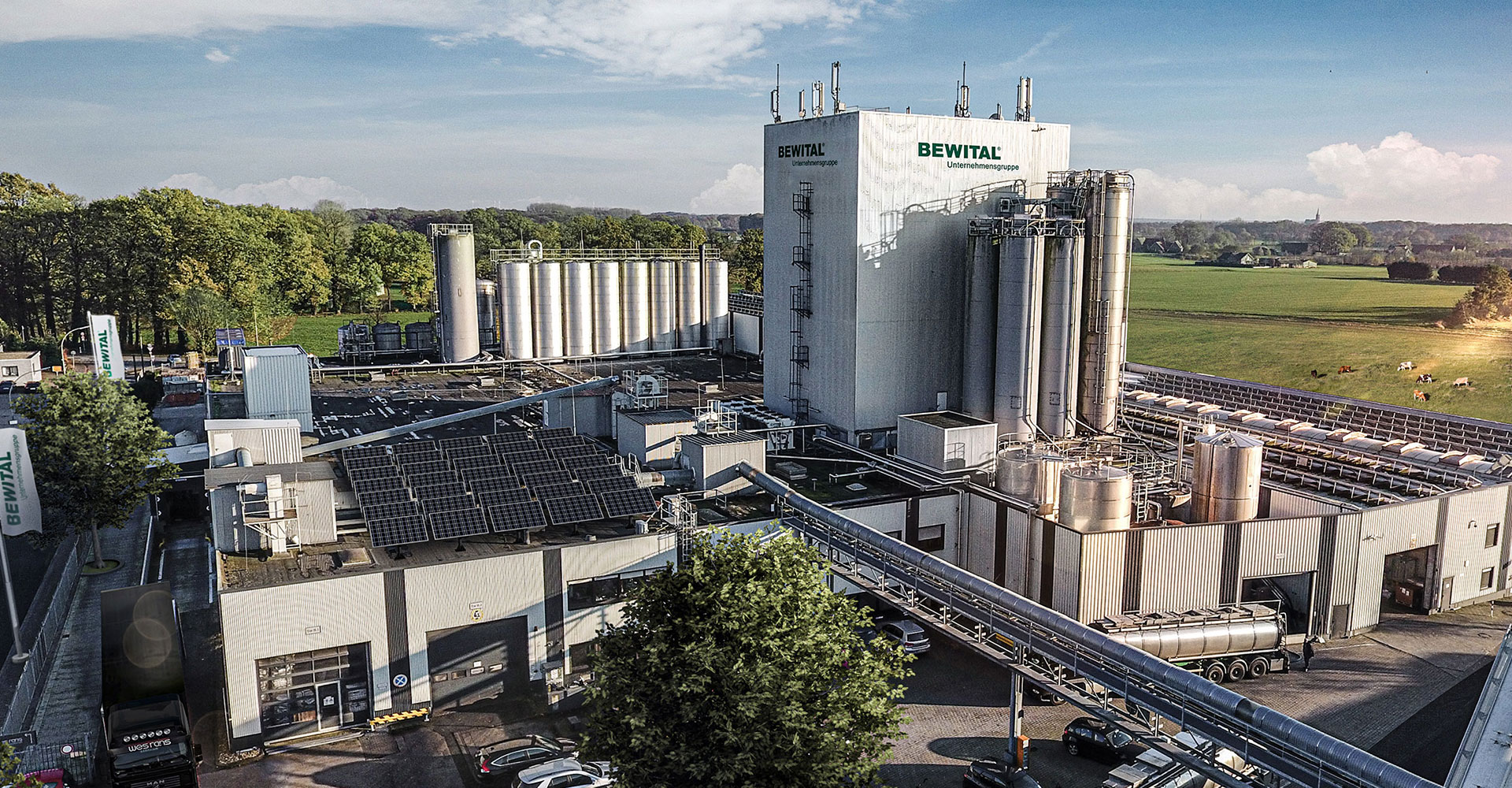 BEWITAL petfood Produktionsgebäude